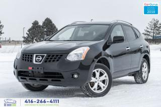 Used 2010 Nissan Rogue 1 OWNER NO ACCIDENTS SL AWD LEATHER/ROOF CERTIFIED for sale in Bolton, ON