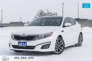 Used 2014 Kia Optima SX TURBO LEATHER/ROOF 1 OWNER NO ACCIDENT SERVICED for sale in Bolton, ON