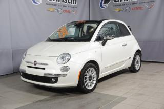 Used 2014 Fiat 500 LOUNGE CUIR for sale in Montréal, QC