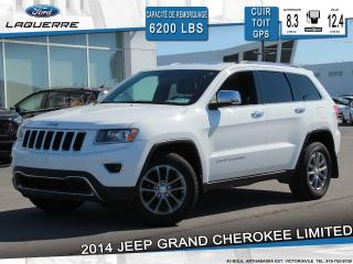 Used 2014 Jeep Grand Cherokee Ltd Awd Cuir Toit for sale in Victoriaville, QC