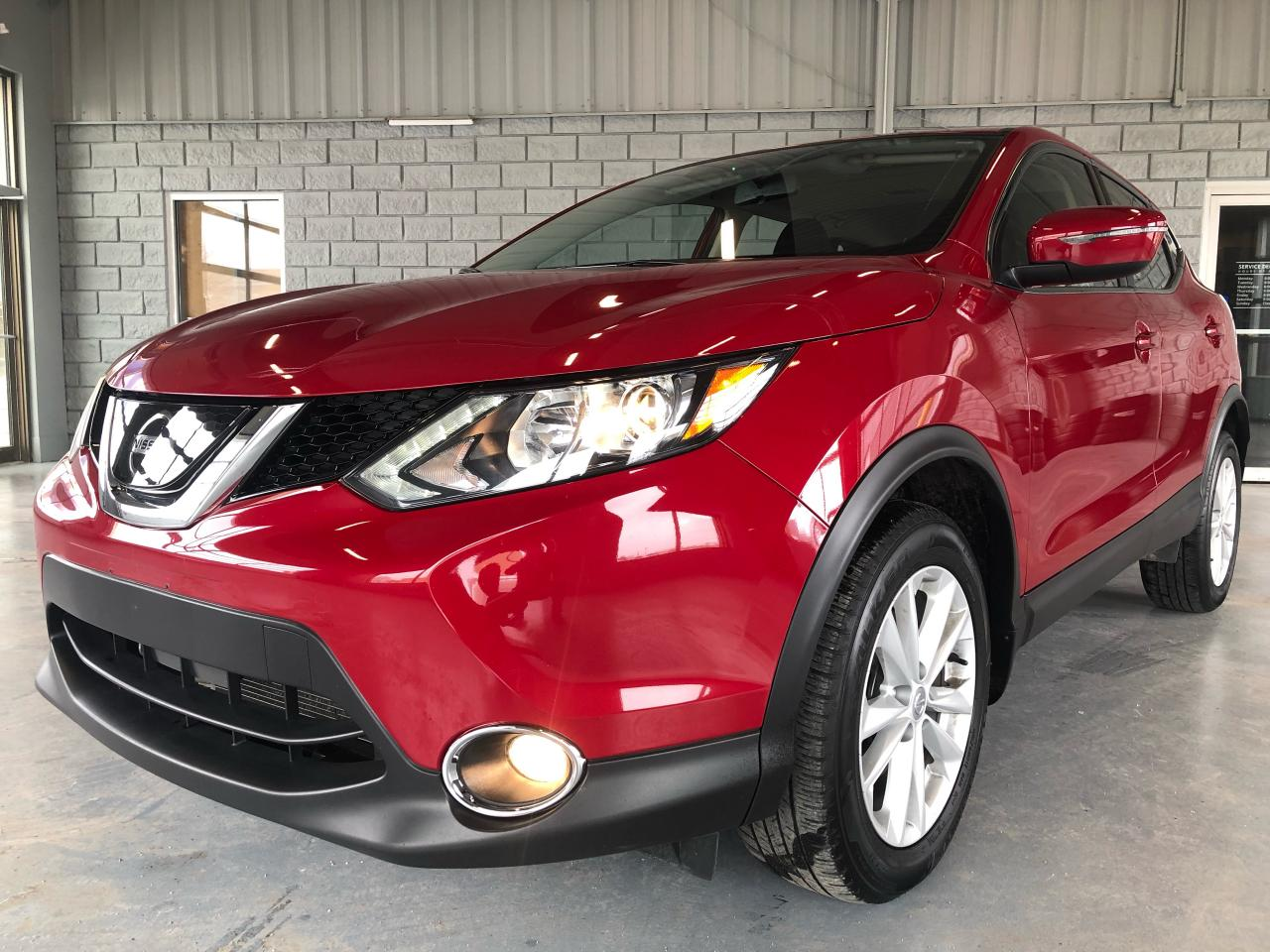 2018 Nissan Qashqai SV AWD Blind spot