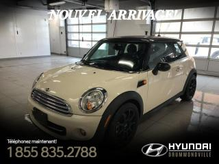 Used 2012 MINI Cooper CLASSIC + GARANTIE + TOIT PANO + MAGS + for sale in Drummondville, QC
