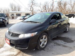 Used 2009 Honda Civic Cpe LX,Certified. for sale in Oshawa, ON