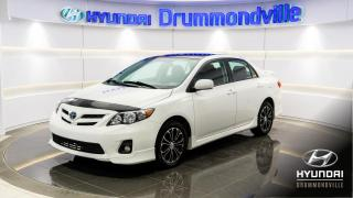 Used 2013 Toyota Corolla S + MAGS + 77 645 KM + CRUISE + BEAU LOO for sale in Drummondville, QC