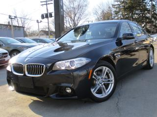 Used 2016 BMW 5 Series 528I XDRIVE~M-SPORT PKG~NAVI~SUNROOF~22KMS !! for sale in Burlington, ON