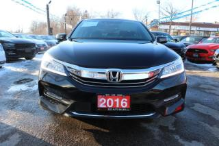 Used 2016 Honda Accord Touring Accident Free for sale in Brampton, ON
