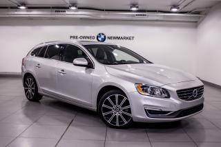 Used 2015 Volvo V60 T6 AWD Premier Plus for sale in Newmarket, ON