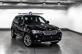 Used 2017 BMW X3 xDrive28i -1OWNER|NO ACCIDENTS| for sale in Newmarket, ON