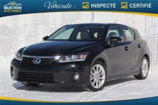 Used 2011 Lexus CT 200h Hybride for sale in Ste-Rose, QC
