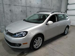 Used 2011 Volkswagen Golf Wagon for sale in Lévis, QC
