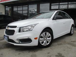 Used 2015 Chevrolet Cruze 2LS-BLUETOOTH-A/C-ALL POWER-ONE OWNER for sale in Scarborough, ON