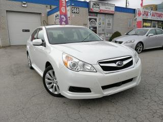 Used 2010 Subaru Legacy 2.5i Limited_SUNROOF_BLUETOOTH_AWD for sale in Oakville, ON