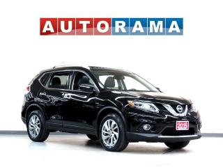Used 2015 Nissan Rogue SL LEATHER NAVI PAN SUNROOF BACK UP CAM AWD for sale in Toronto, ON
