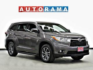 Used 2015 Toyota Highlander XLE NAVI SUNROOF 7 PASSENGER BACK UP CAM AWD for sale in Toronto, ON