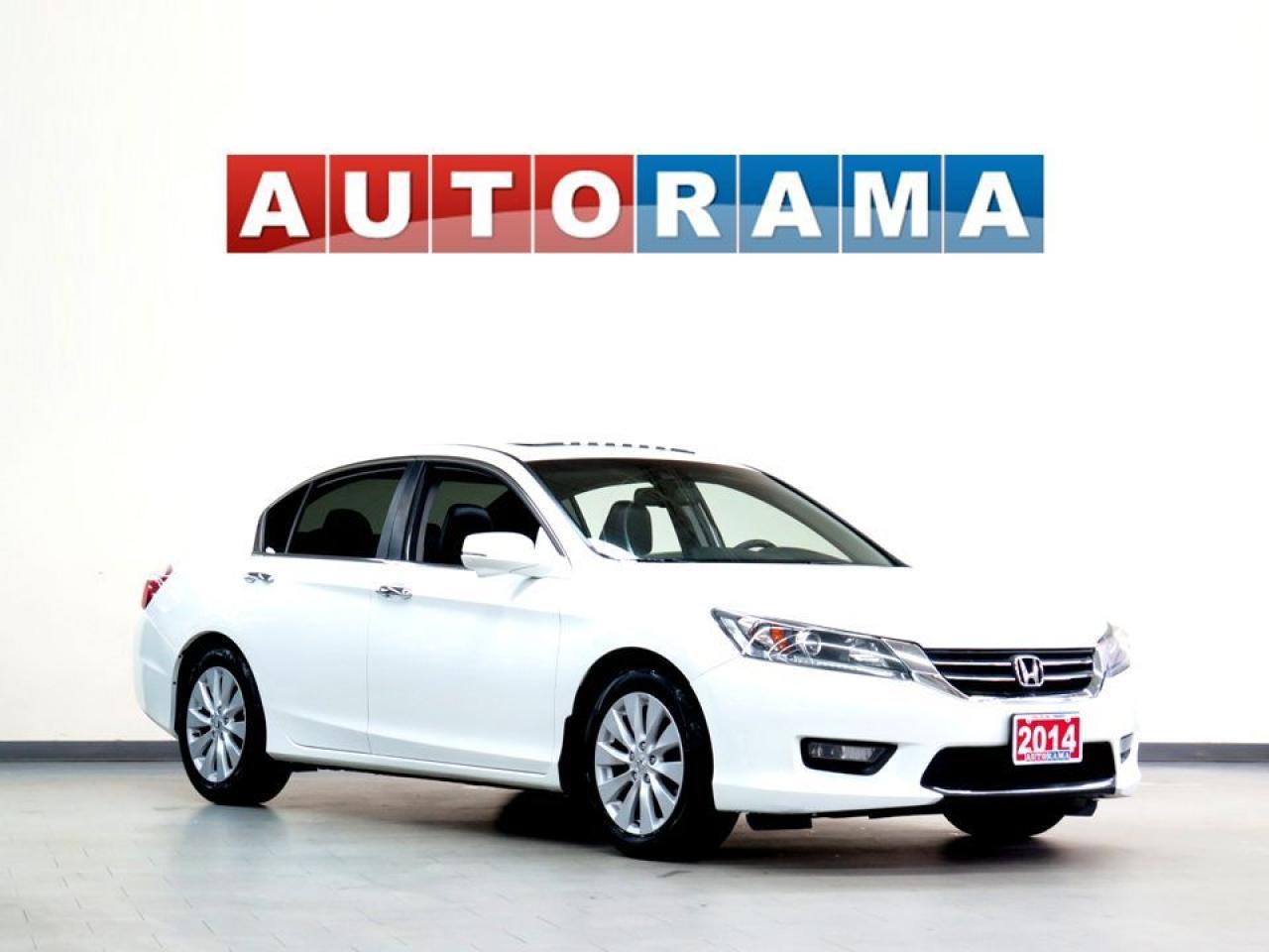 2014 Honda Accord EX-L LEATHER SUNROOF BACK UP CAMERA