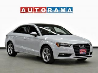Used 2015 Audi A3 1.8T KOMFORT PKG LEATHER SUNROOF for sale in Toronto, ON