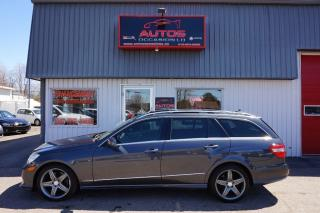 Used 2011 Mercedes-Benz E-Class E350 Wagon Awd Cuir for sale in Lévis, QC