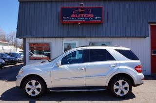 Used 2010 Mercedes-Benz ML-Class ML350 BLUETEC DIESEL 4MATIC TOIT GPS NAV 139 000 for sale in Lévis, QC