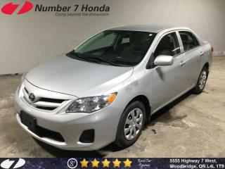 Used 2013 Toyota Corolla CE| Power Group Options, Bluetooth! for sale in Woodbridge, ON