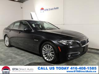 Used 2014 BMW 5 Series 528i xDrive AWD Nav Sunroof Prem Comfort Certified for sale in Toronto, ON