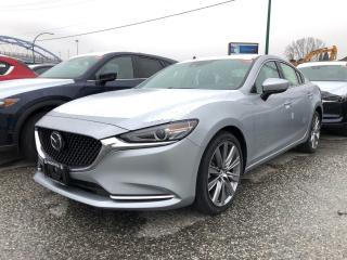 New 2018 Mazda MAZDA6 GT at (2) for sale in North Vancouver, BC