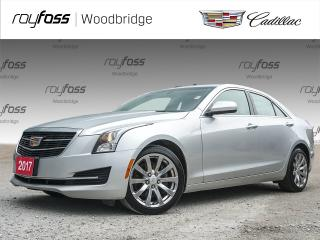 Used 2017 Cadillac ATS AWD, SUNROOF, BOSE for sale in Woodbridge, ON