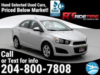 Used 2015 Chevrolet Sonic LT for sale in Winnipeg, MB