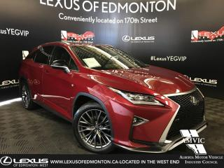 Used 2017 Lexus RX 350 F Sport SERIES 2 for sale in Edmonton, AB