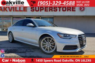 Used 2015 Audi A6 3.0T PROGRESSIV | S-LINE PACKAGE | NAV | SUNROOF for sale in Oakville, ON