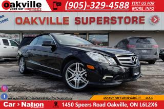 Used 2011 Mercedes-Benz E-Class E350 | AIR SCARF | NAV | SPRING IS COMING for sale in Oakville, ON