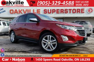 Used 2018 Chevrolet Equinox PREMIER | APPLE CAR PLAY | PANO ROOF | NAV | LED for sale in Oakville, ON