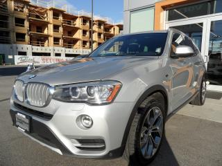 Used 2015 BMW X3 xDrive28d / Premium Package Enhanced for sale in North Vancouver, BC