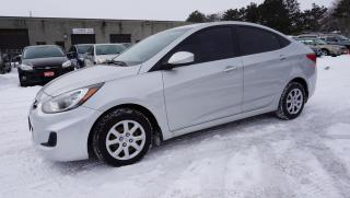 Used 2013 Hyundai Accent GLS AUTO SEDAN CERTIFIED 2YR WARRANTY BLUETOOTH HEATED SEAT for sale in Milton, ON