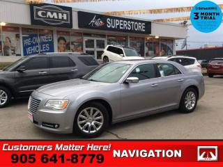 Used 2014 Chrysler 300C Base  NAV ROOF LEATH CS HTD-S/W  CAM  2X-P/SEAT for sale in St. Catharines, ON