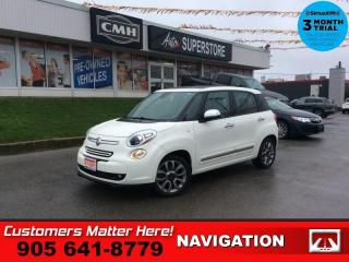 Used 2015 Fiat 500 L Lounge  NAV ROOF CAM LEATH HS BT PARK-SENS AUTOMATIC for sale in St. Catharines, ON