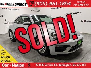 Used 2017 Volkswagen Beetle 1.8 TSI Trendline| BACK UP CAMERA| HEATED SEATS| for sale in Burlington, ON