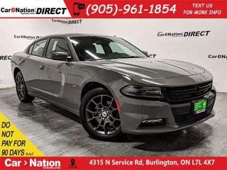 Used 2018 Dodge Charger GT| AWD| NAVI| SUNROOF| BACK UP CAM & SENSORS| for sale in Burlington, ON