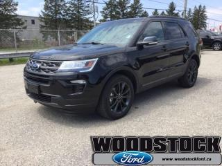 New 2019 Ford Explorer XLT  - Leather Seats - Navigation for sale in Woodstock, ON