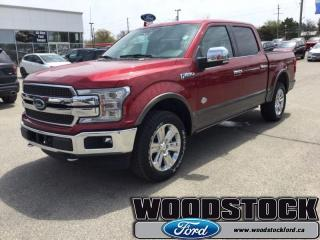New 2019 Ford F-150 King Ranch  - Sunroof - Tailgate Step for sale in Woodstock, ON