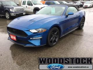 Used 2018 Ford Mustang EcoBoost Premium Convertible for sale in Woodstock, ON
