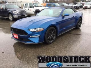 Used 2018 Ford Mustang GT Premium Convertible  - Leather Seats for sale in Woodstock, ON