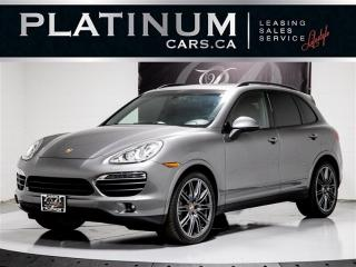 Used 2014 Porsche Cayenne S 400HP AWD, NAVI, CAM, PANO, Heated Vented Seats for sale in Toronto, ON