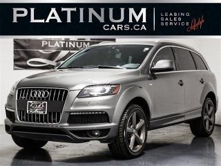 Used 2015 Audi Q7 3.0T Quattro VORSPRUNG, S-LINE, NAVI, PANO, CAM for sale in Toronto, ON