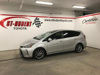 Used 2015 Toyota Prius V Navigation, Cuir for sale in St-Hubert, QC