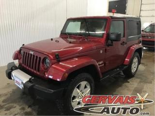 Used 2012 Jeep Wrangler Sahara Awd A/c for sale in Shawinigan, QC
