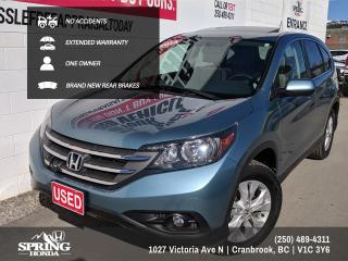 Used 2014 Honda CR-V EX-L EXTENDED WARRANTY / NO ACCIDENTS / NEW WINDSHIELD / LOCAL TRADE / 2 SETS OF KEYS / WELL MAINTAINED for sale in Cranbrook, BC