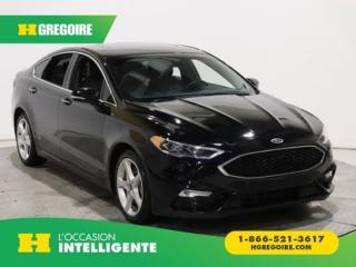 Used 2017 Ford Fusion V6 Sport Awd Cuir for sale in St-Léonard, QC