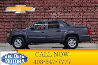 Used 2010 Chevrolet Avalanche 4x4 Crew Cab LT Leather Roof DVD for sale in Red Deer, AB