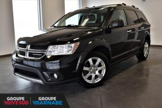 Used 2013 Dodge Journey R/T AWD + 7 PASSAGERS + DVD + NAV + CUIR for sale in St-Jean-Sur-Richelieu, QC