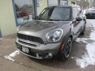 Used 2013 MINI Cooper S 6-SPEED S-TYPE ALL-4 MODEL 4 PASSENGER 1.6L - TURBO.. LEATHER.. HEATED SEATS.. NAVIGATION.. DUAL SUNROOF.. BLUETOOTH.. for sale in Bradford, ON
